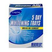 CareOne 5 Day Disposal Dental Whitening Trays - 10 CT