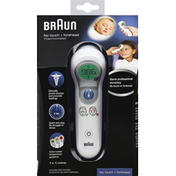 Braun Thermometer, No Touch + Forehead