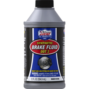 Lucas Brake Fluid, Synthetic, Dot 3