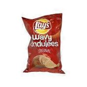 Lay's Extra Large Regular Wavy Potato Chips