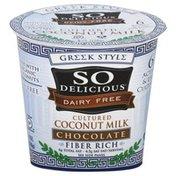 So Delicious Coconut Milk, Cultured, Chocolate
