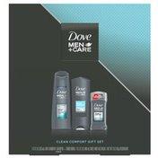 Dove Body Wash, Shampoo, Deodorant Gift Set Clean Comfort