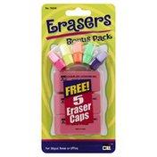 C Li Erasers, Bonus Pack