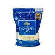 Happy Farms Shredded Monterey Jack Cheese