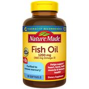 Nature Made Fish Oil 1200 mg + Vitamin D3 1000 IU (25 mcg)
