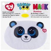 Ty Beanie Boo Face Mask, Bamboo