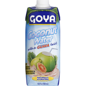 Goya Pure Coconut Water with Guava