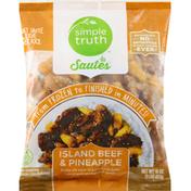 Simple Truth Sautes, Island Beef & Pineapple