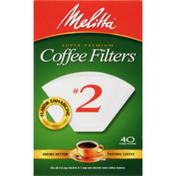 Melitta Super Premium #2 Coffee Filters