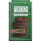 Tate's Bake Shop Chip Cookies, Double Chocolate