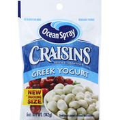 Ocean Spray Greek Yogurt Covered Sweetened Dried Cranberries