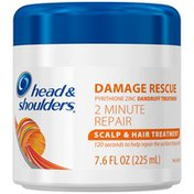 Head & Shoulders Damage Rescue Dandruff Treatment 2 Minute Repair Scalp & Hair Treatment