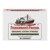 Fisherman's Friend Menthol Cough Suppressant Lozenges - 38 CT