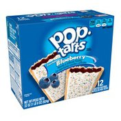 Kellogg's Pop Tarts Toaster Pastries Frosted Blueberry