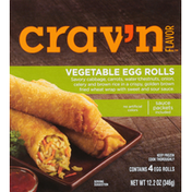 Crav'n Flavor Egg Rolls, Vegetable