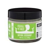 Primal Pit Paste Natural Deodorant, Coconut Lime