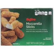 Hy-Vee Mozzarella Sticks In A Crispy Breading