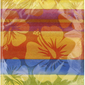 Party Creations Napkins, 2-Ply, Sunset Stripes