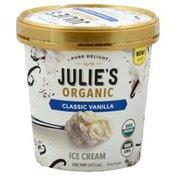 Julies Organic Ice Cream, Classic Vanilla