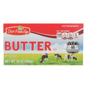 Our Family Unsalted Butter