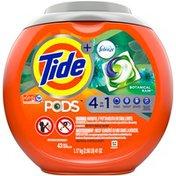 Tide with Febreze, Liquid Laundry Detergent Pacs, Botanical Rain