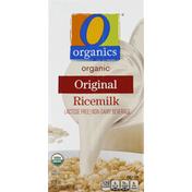 O Organics Ricemilk, Organic/Lactose Free, Original