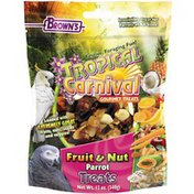 Brown's Tropical Carnival Fruit & Nut Parrot Treats