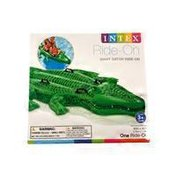 Intex Ride On Inflatable Giant Gator