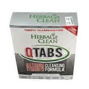 Herbal Clean QTabs Maximum Strength Cleansing Formula Tablets