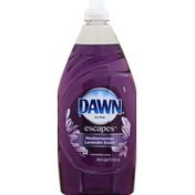 Dawn Ultra  Escapes Dishwashing Liquid Mediterranean Lavender