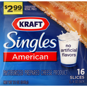 Kraft Cheese Product, Pasteurized Prepared, American