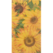Caspari Napkins, Sunflowers, Triple-Ply