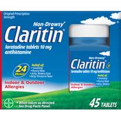 Claritin 24 Hour Non Drowsy Allergy Tablets