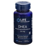 Life Extension DHEA, Dehydroepiandrosterone, 50 mg, Capsules