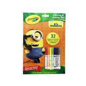 Crayola Minions Coloring & Activity Pad with Markers