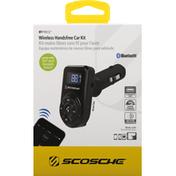 Scosche Handsfree Car Kit, Wireless