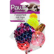 Paws Happy Life Cat Toys, For Cats, Assorted