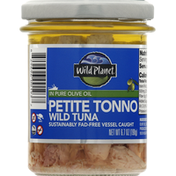 Wild Planet Petite Tonno, Wild Tuna, in Pure Olive Oil