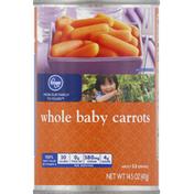 Kroger Carrots, Baby, Whole