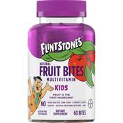 Flintstones Multivitamin, Natural, Fruit Bites, Kids