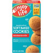 Enjoy Life Foods Snickerdoodle Handcrafted Soft Baked Cookies