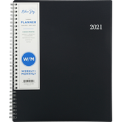 Blue Sky Planner, Weekly + Monthly, 2021