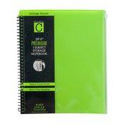 Studio C ZIP-IT Premium 1-Subject Storage Notebook College Ruled - 80 Sheets