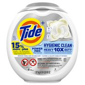 Tide Hygienic Clean Heavy Duty 10X Free Power Pods Laundry Detergent