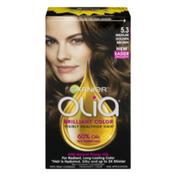 Garnier Olia Brilliant Color Visibly Healthier Hair 5.3 Medium Golden Brown