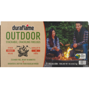 Duraflame duraflame OUTDOOR Firelogs, 6-pk for up to 3 Campfires
