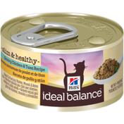 Hill's Ideal Balance Savory Chicken & Tuna Recipe Cat Food