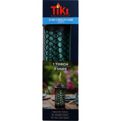 Tiki Torch, Multi-Use, 3-in-1, Honeycomb