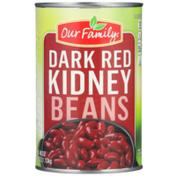 Our Family Dark Red Kidney Beans