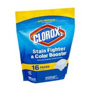 Clorox 2 Stain Fighter & Color Booster Packs - 16 CT